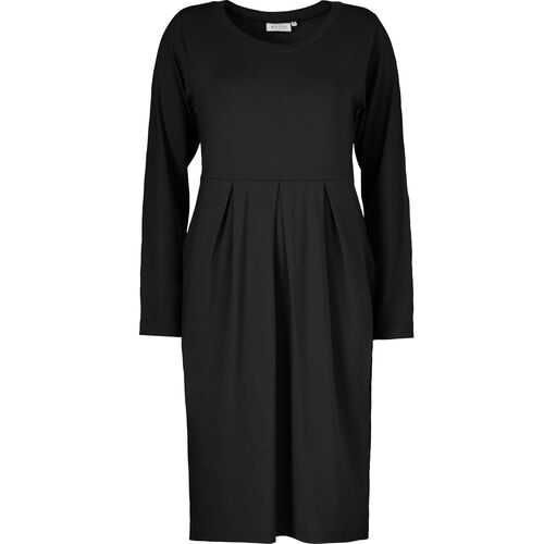 NONA DRESS, BLACK, hi-res