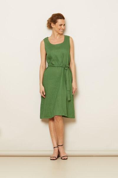 OFELIA DRESS, Elm Green, hi-res
