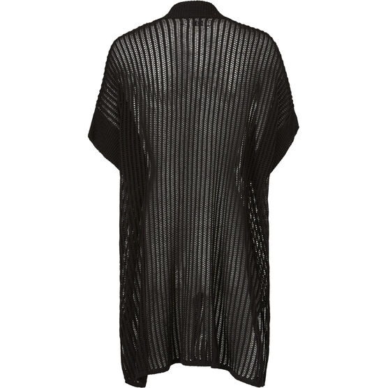 LEDA CARDIGAN, BLACK, hi-res