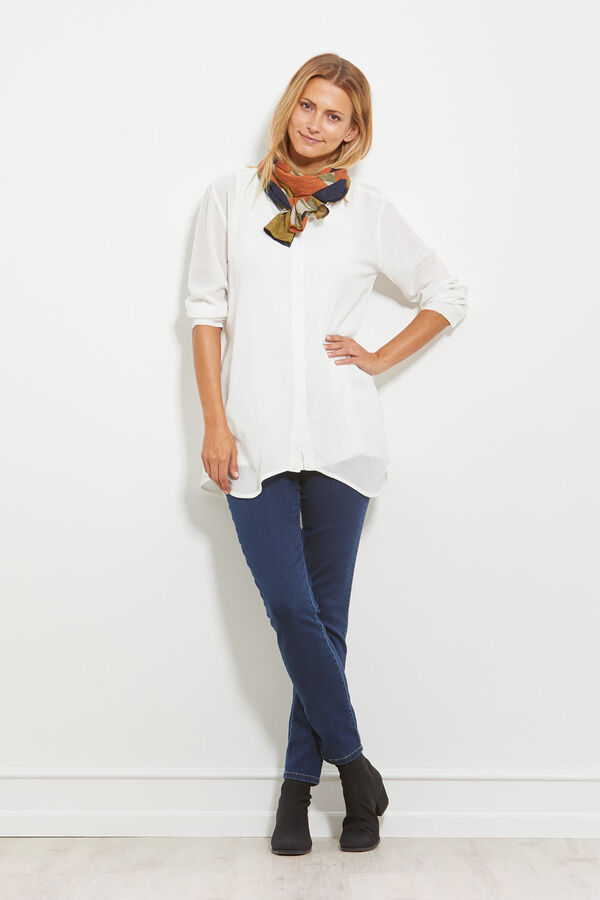 ITANA BLOUSE, CREAM, hi-res