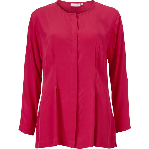 IRMGART BLOUSE, RUBY, hi-res