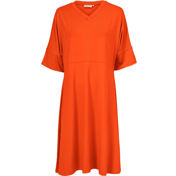 NABY DRESS, Pumpkin, hi-res