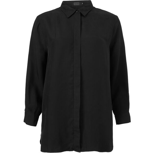 INDISSA BLOUSE, BLACK, hi-res