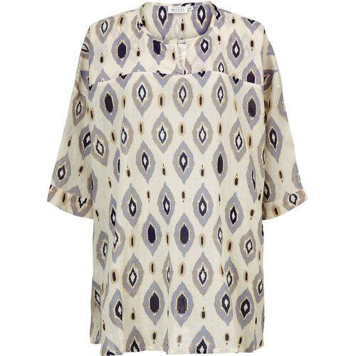 GAURI TUNIC, Purple Impression, hi-res