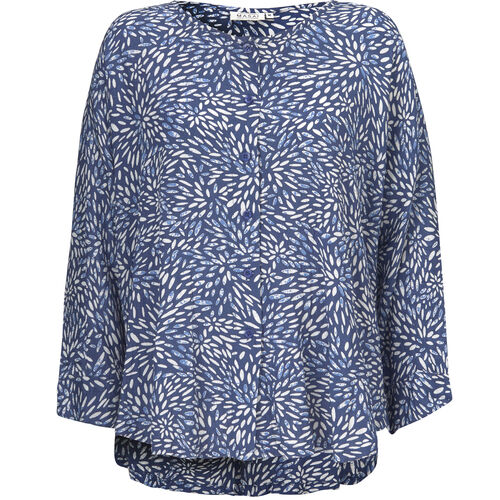 Inga blouse, MIDNIGHT, hi-res