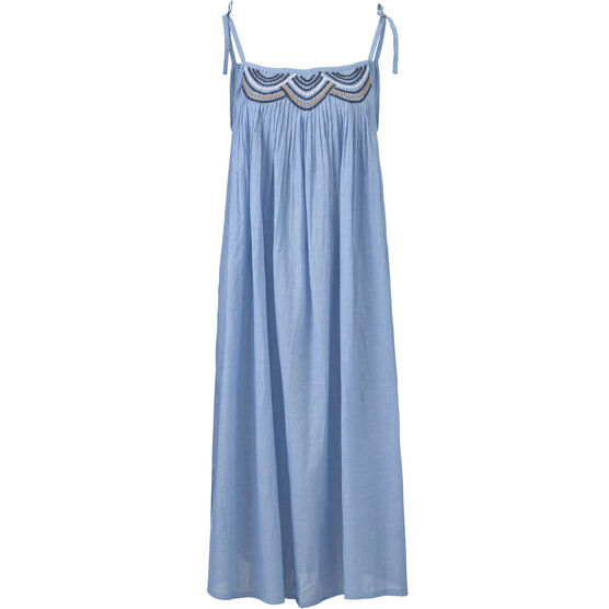 OLLIE DRESS, Brunnera Blue, hi-res