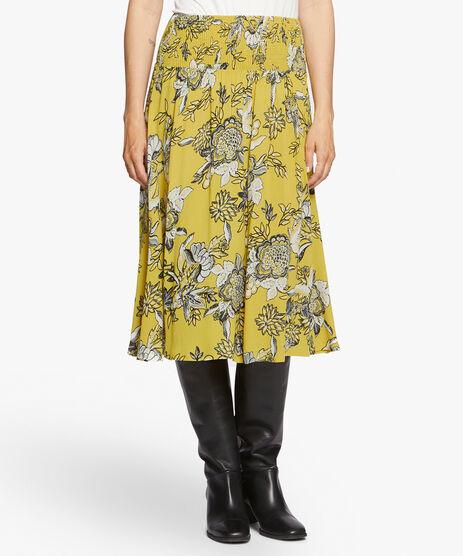 SONDRA SKIRT, Oil Yellow, hi-res