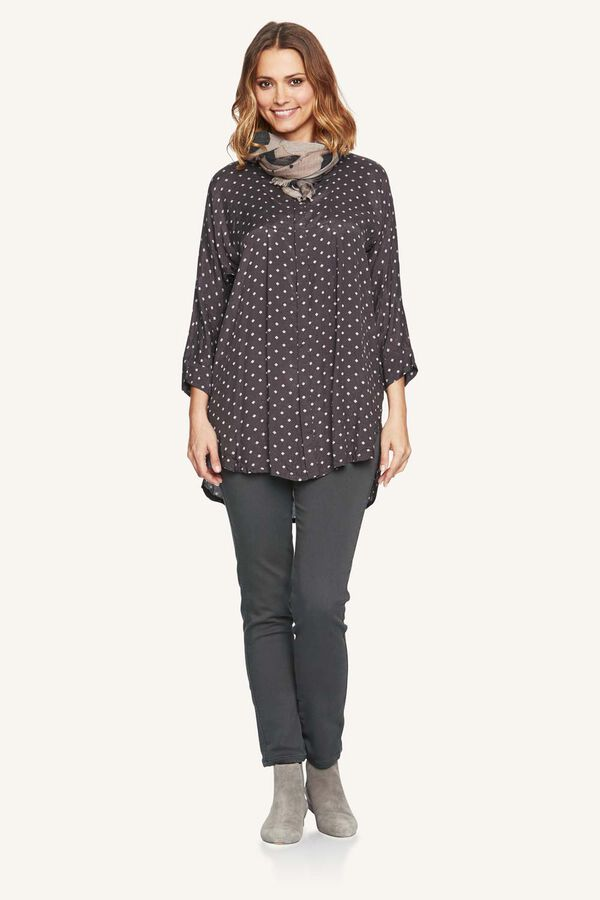 INAS BLOUSE, STONE, hi-res