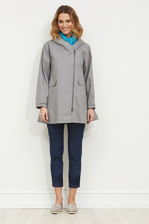 TOMASA COAT, DOVE, hi-res