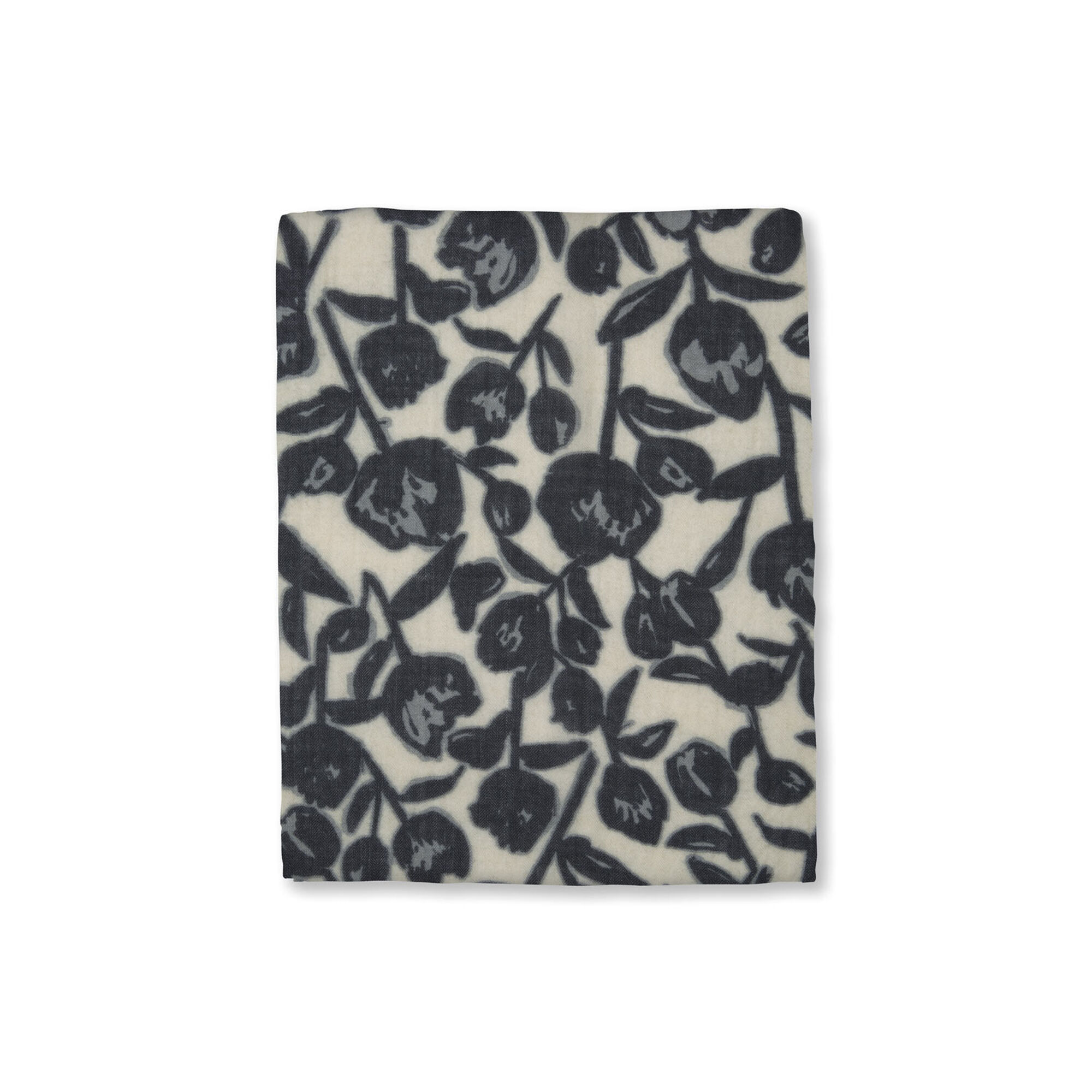 AGNETE SCARF, Steel Grey, hi-res