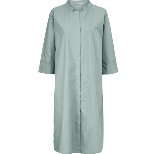 NIMES SHIRT DRESS, Stormy Sea, hi-res