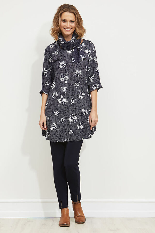 Guel tunic, NAVY, hi-res