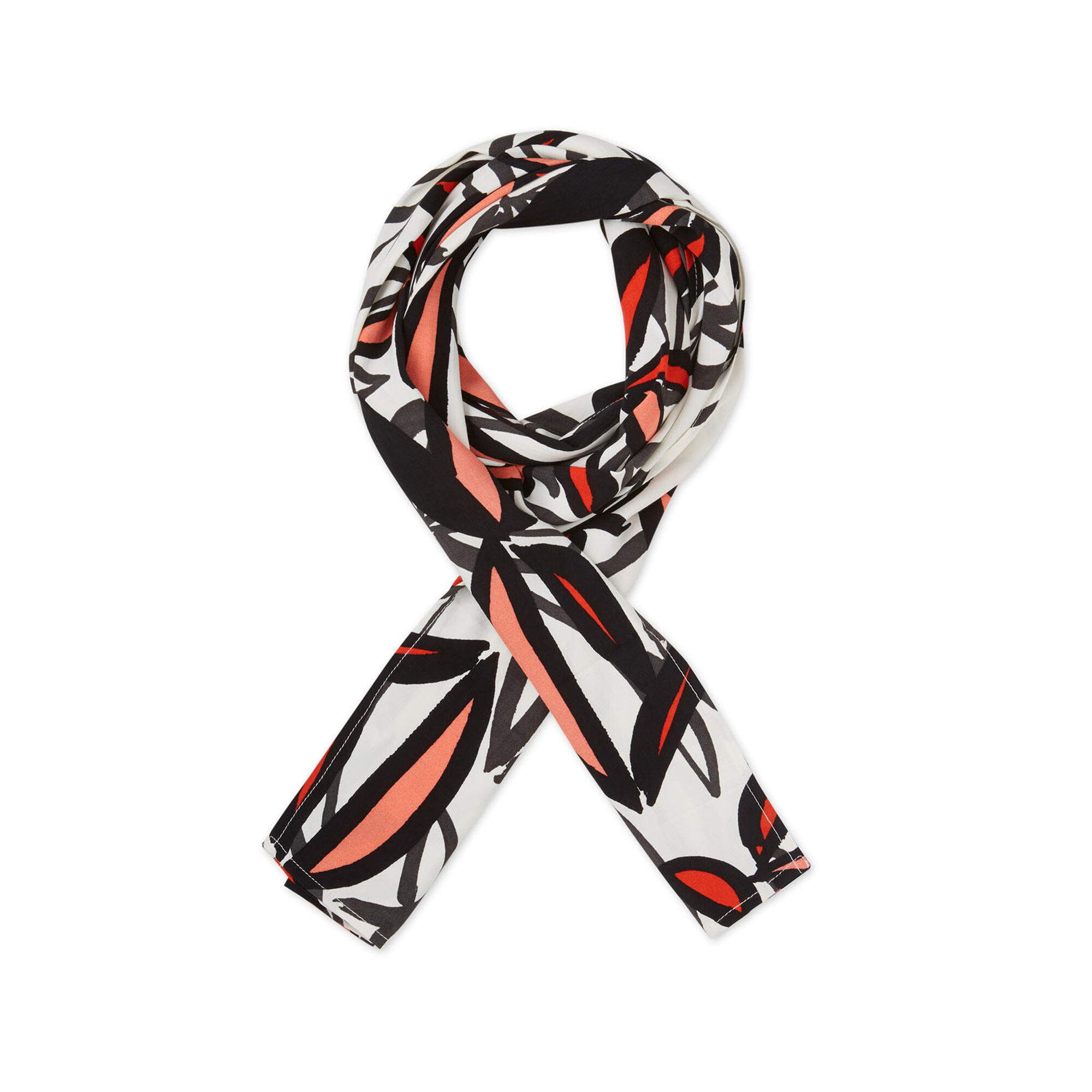 ALONG SCARF, Valient Poppy, hi-res