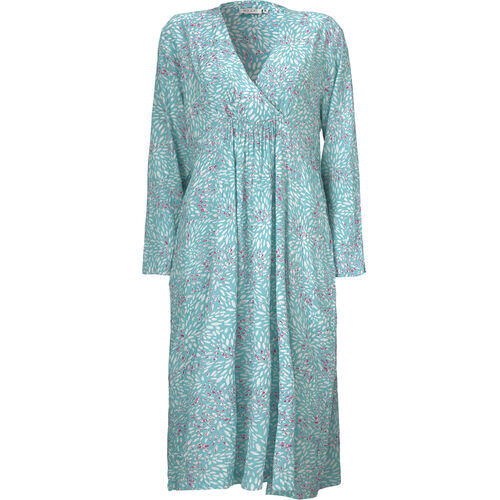 Norina dress, AQUA, hi-res