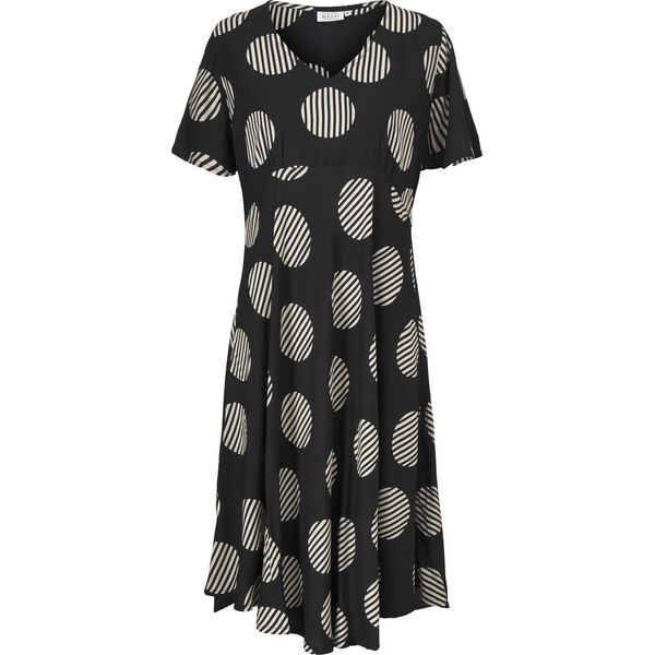 NANETTE DRESS, Black, hi-res