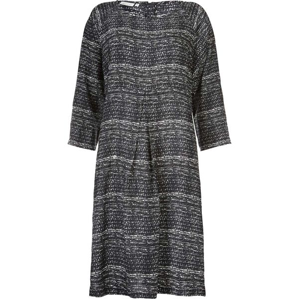 NINNO DRESS, BLACK, hi-res