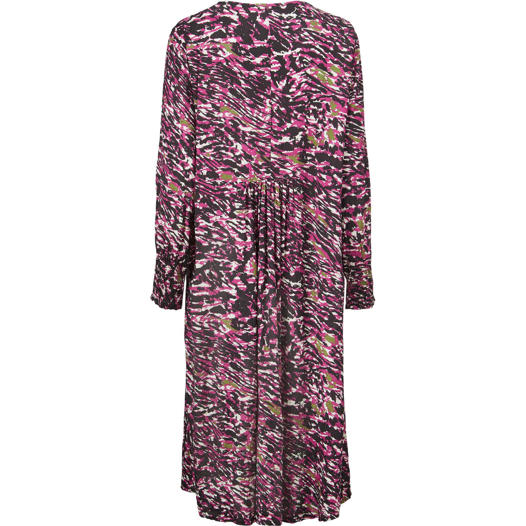 NORASSA DRESS, Sangria, hi-res