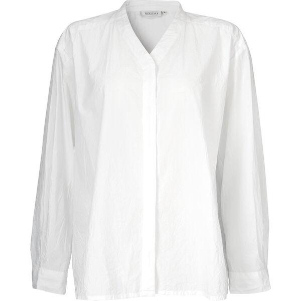 Idaka blouse, WHITE, hi-res