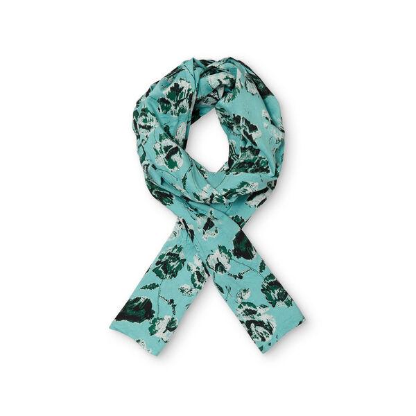Along scarf, AQUA, hi-res