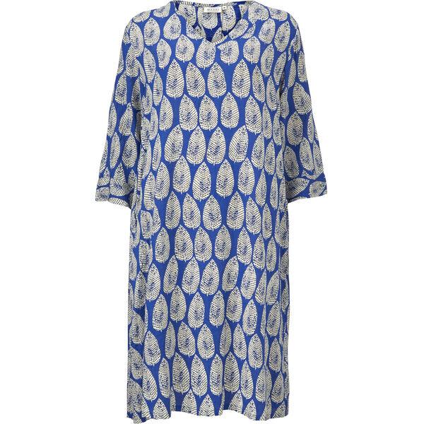 NARI DRESS, GREEK BLUE, hi-res