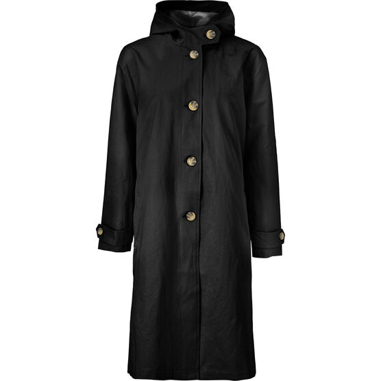TATIA COAT, Black, hi-res