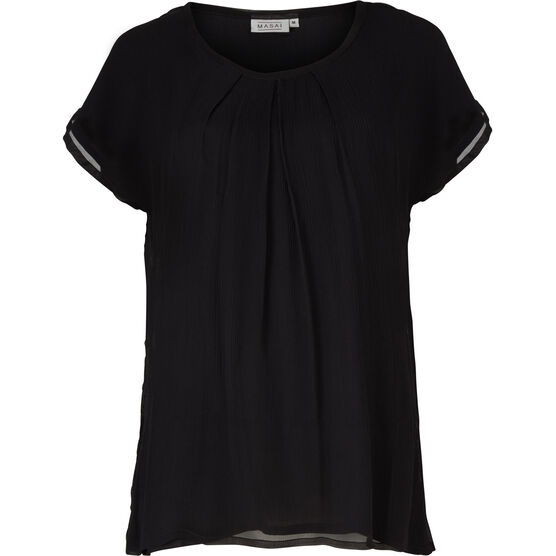 ENYA TOP, BLACK, hi-res