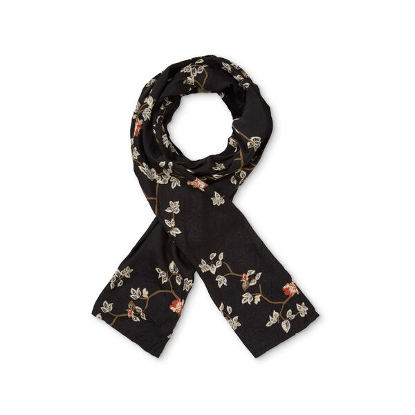 ALONG SCARF, PUMPKIN ORG, hi-res