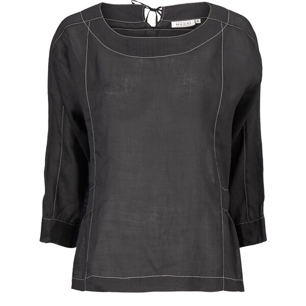 DACEY TOP, Black, hi-res