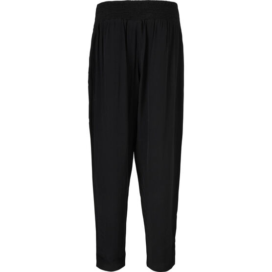 PANJA TROUSERS, BLACK, hi-res