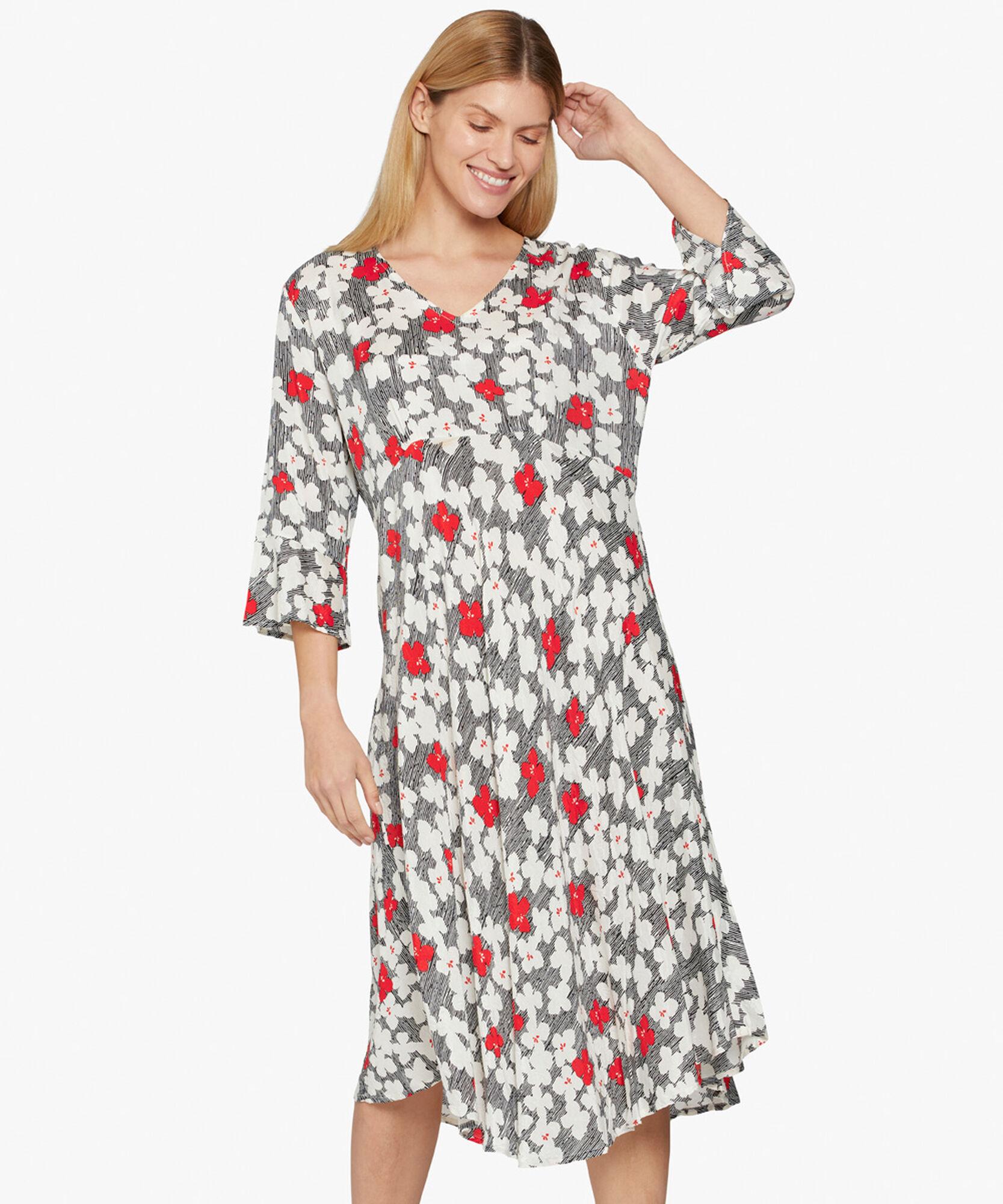 NITA DRESS, Valient Poppy, hi-res