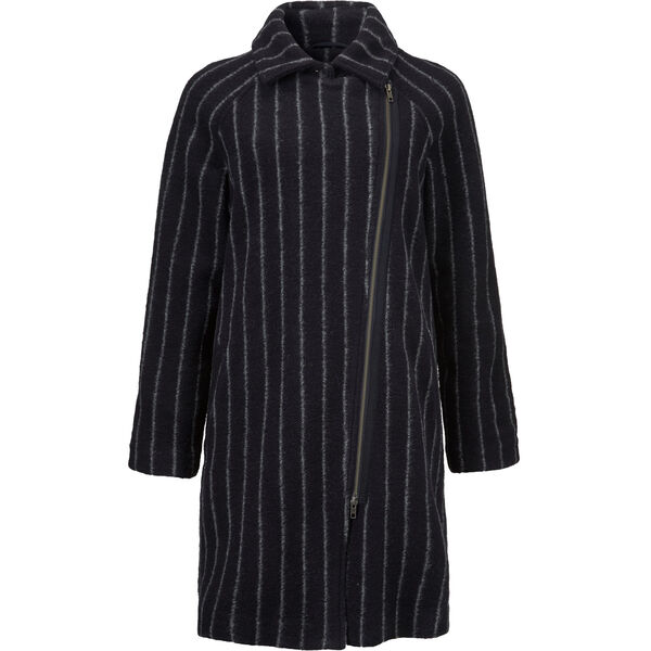 TAYLA COAT, NAVY, hi-res