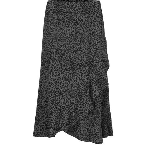 SAPHIRA SKIRT, GREY MELANGE, hi-res