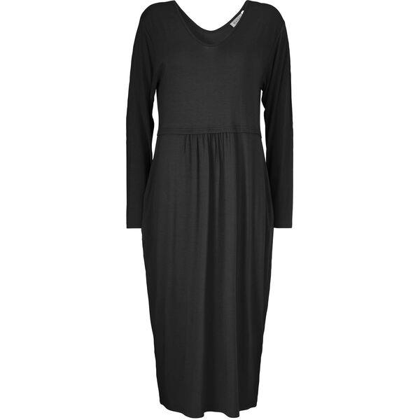 NORA DRESS, BLACK, hi-res
