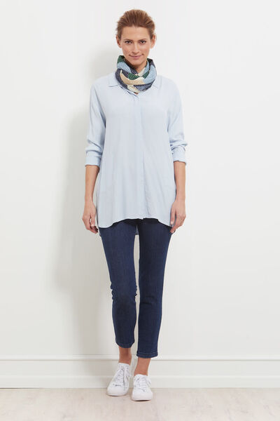 IBBY BLOUSE, SKYWAY, hi-res