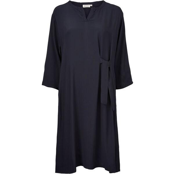 NANAI DRESS, NAVY, hi-res