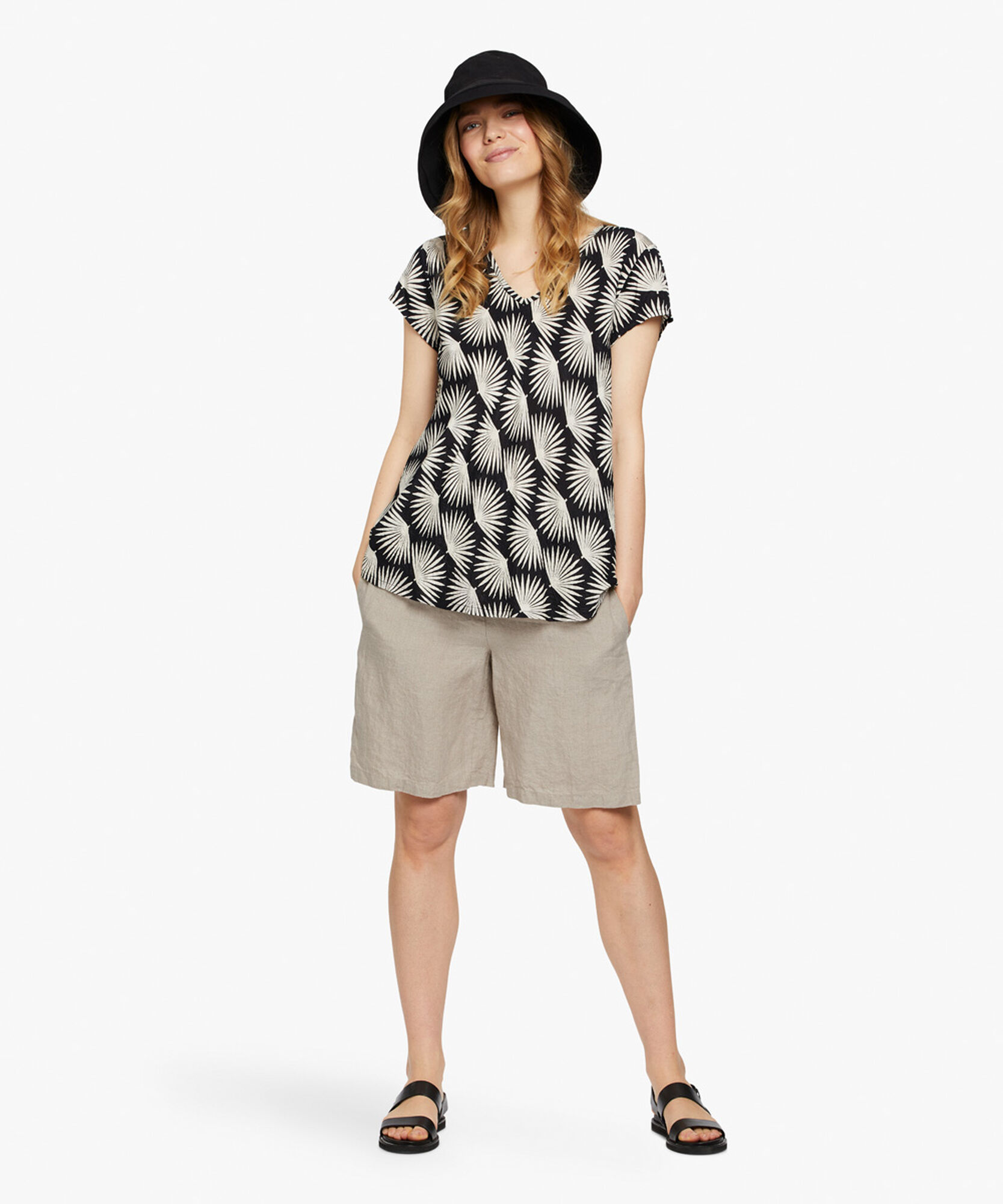 KALLO TOP, Black, hi-res