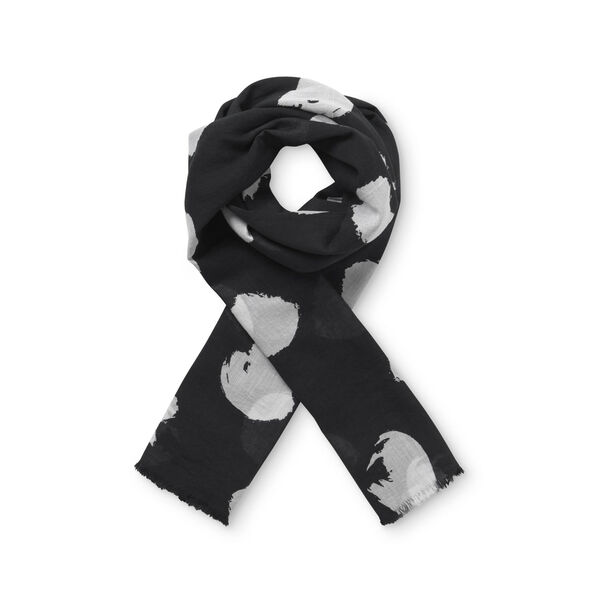 ASHLEY SCARF, Black, hi-res