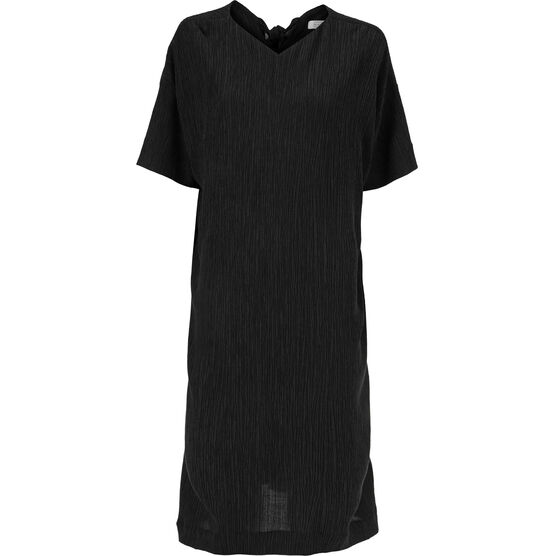 NYA DRESS, Black, hi-res