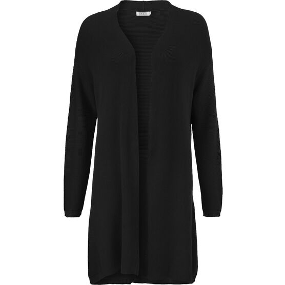 LAIMA CARDIGAN, BLACK, hi-res