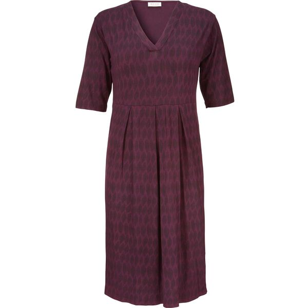 NEB DRESS, BURGUNDY, hi-res