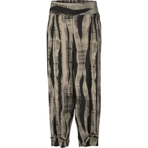 Paisley trousers, KHAKI, hi-res