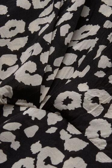 OMIA DRESS, BLACK ORG, hi-res