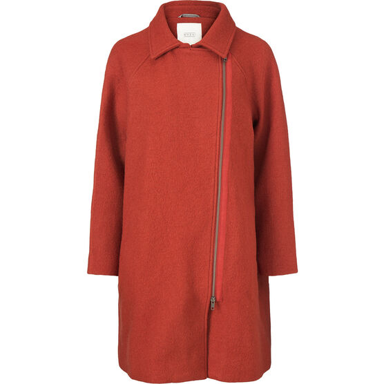 TAYLA COAT, RED OCHRE, hi-res