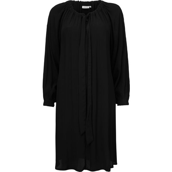 NOOR DRESS, BLACK, hi-res