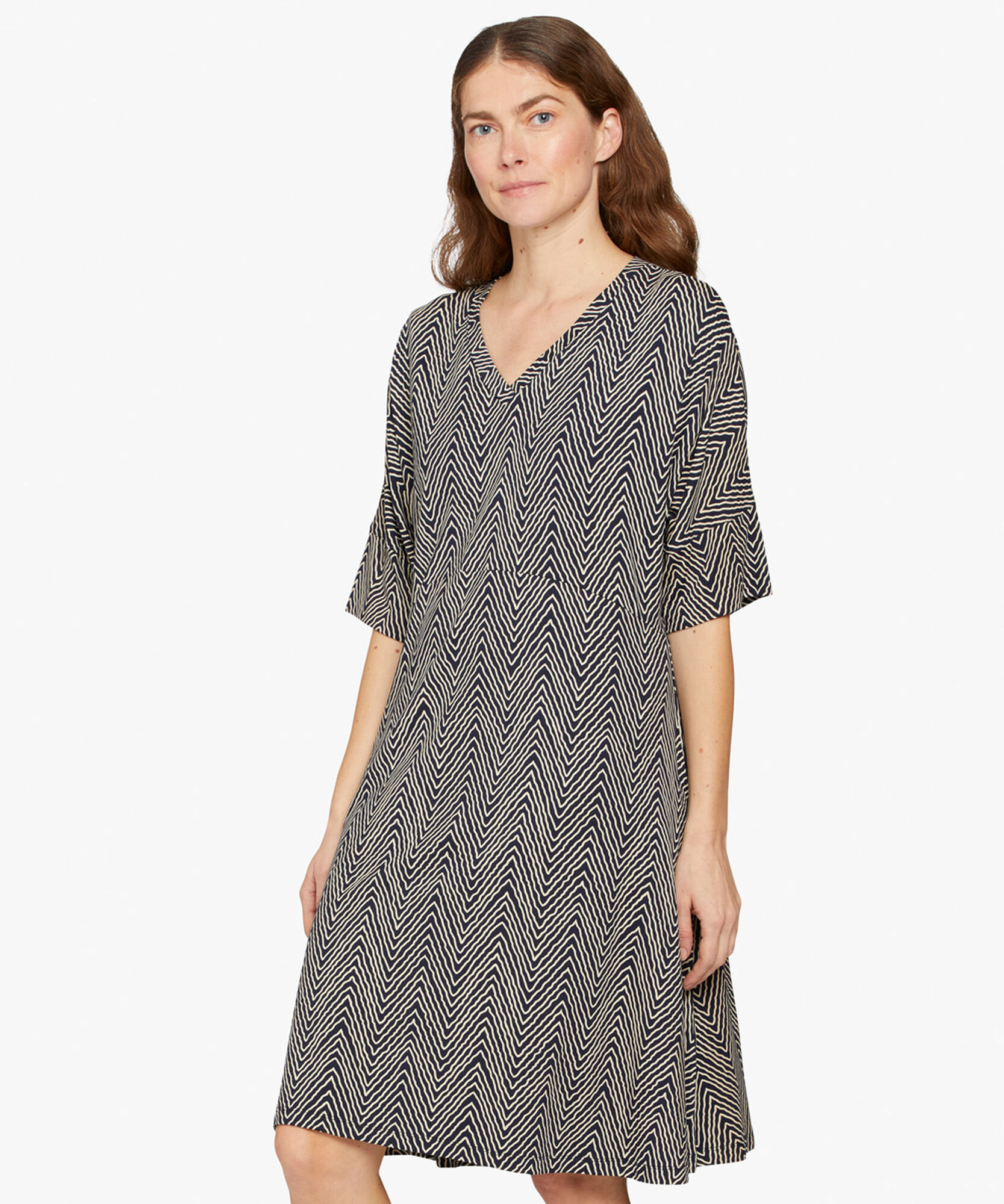 NABY DRESS, Navy, hi-res