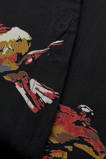 NIMES DRESS, RED OCH ORG, hi-res