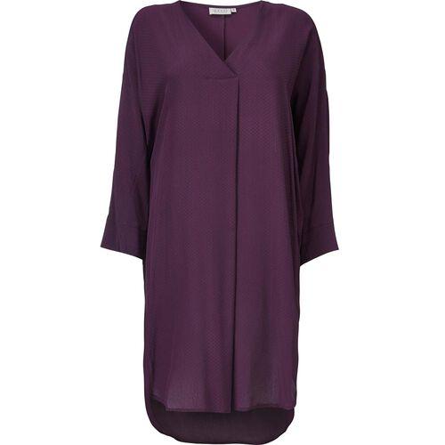 NINON DRESS, BURGUNDY, hi-res