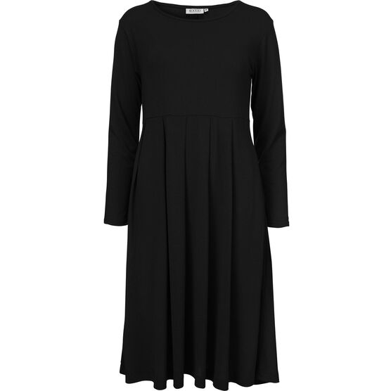 NOELA DRESS, BLACK, hi-res