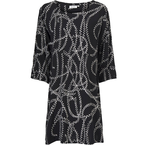 Garnetta  TUNIC, Black, hi-res