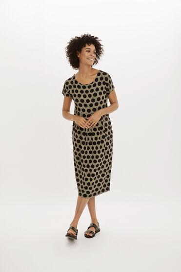 OLINA DRESS, Black, hi-res